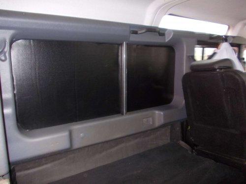 Black PVC side panel soundproofing