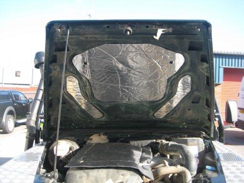 Land Rover TD5 underbonnet Large engine blanket