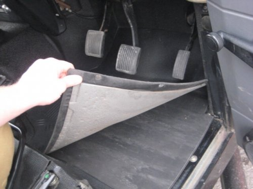 Land Rover Drivers side floor piece