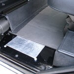 Land Rover Rear footwell area