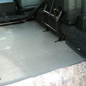 Land Rover Rear Floor piece