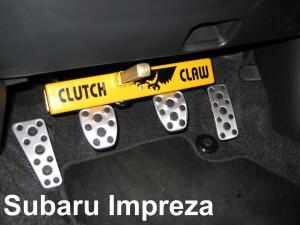 Securing a Subaru Impreza