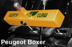Securing a peugeot boxer