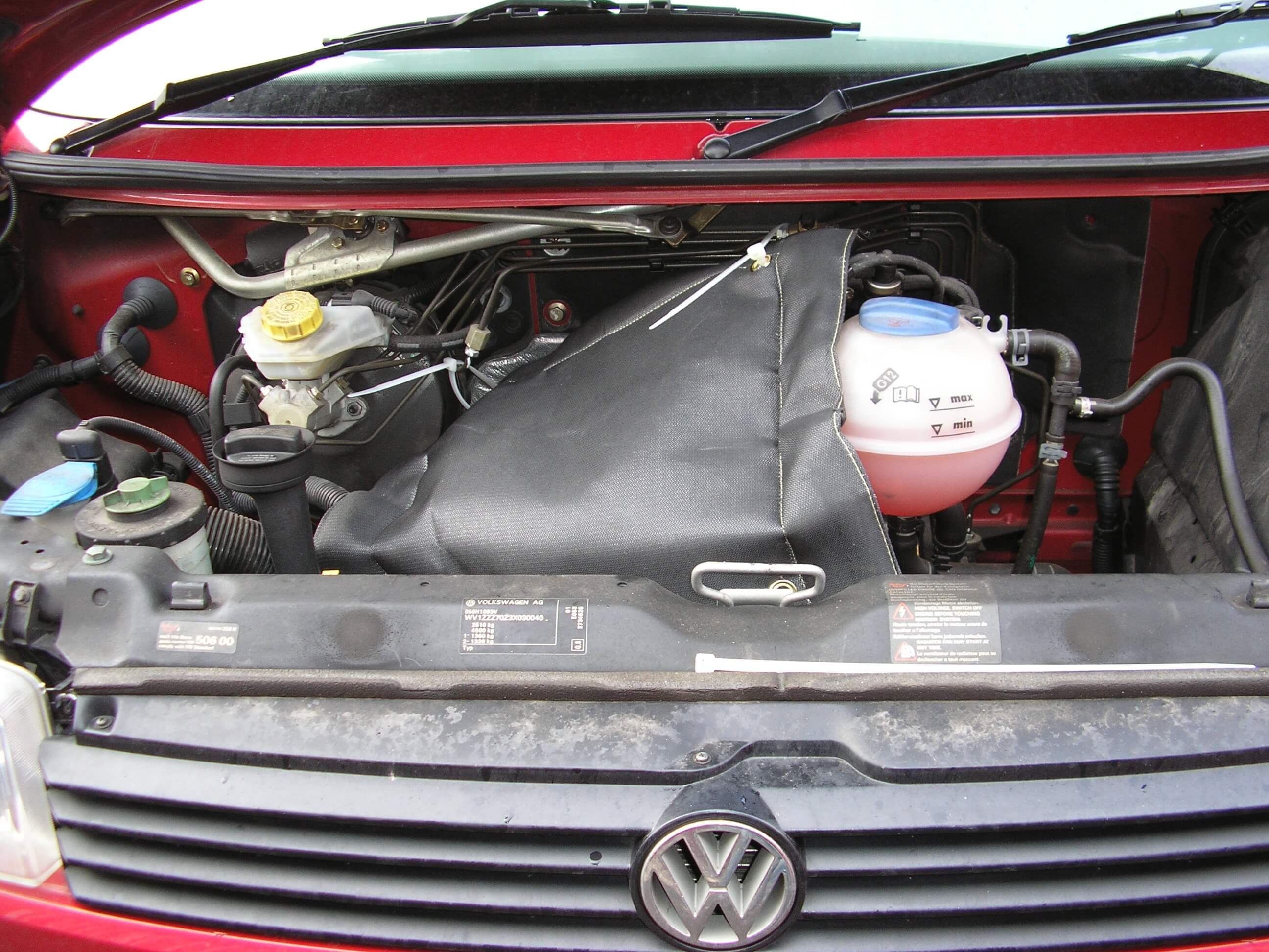 Vehicle acoustic engine blankets - NK Group