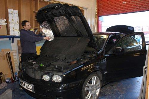 Jaguar X Type Soundproofing