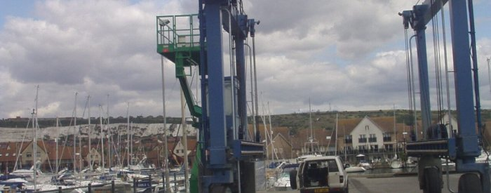 port solent noisy crane