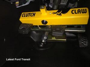 clutch claw on latest Ford Transit