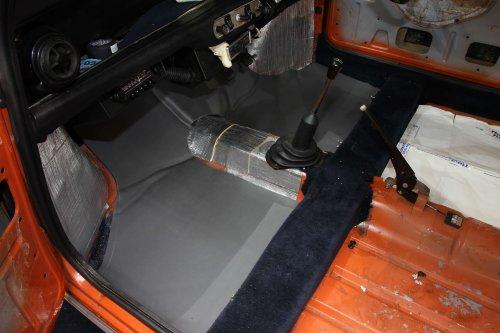 Classic Mini Front Floors