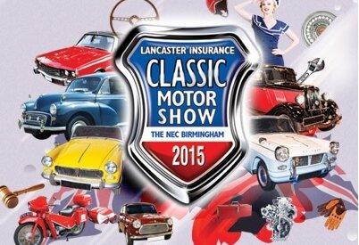 classic car show NEC 2015