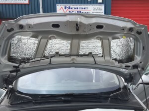 Peugeot 308 Under bonnet after