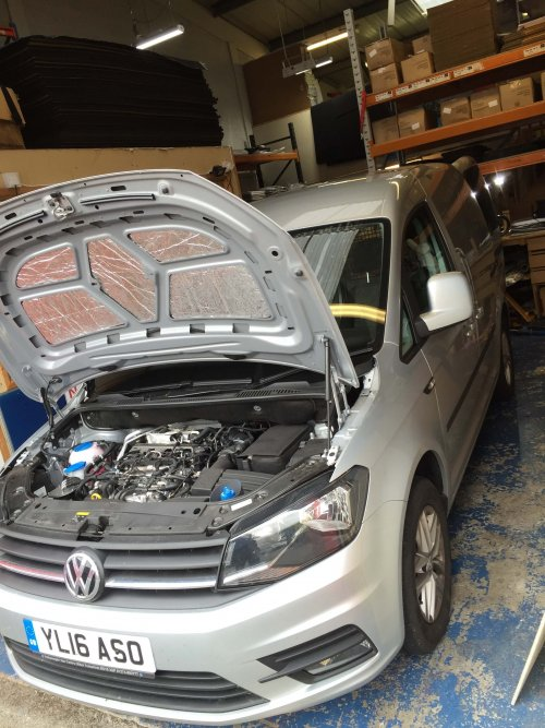 VW Caddy Soundproofing Kit
