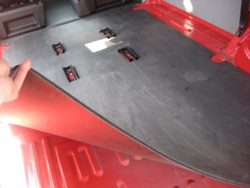 VW T6 Rear Floor