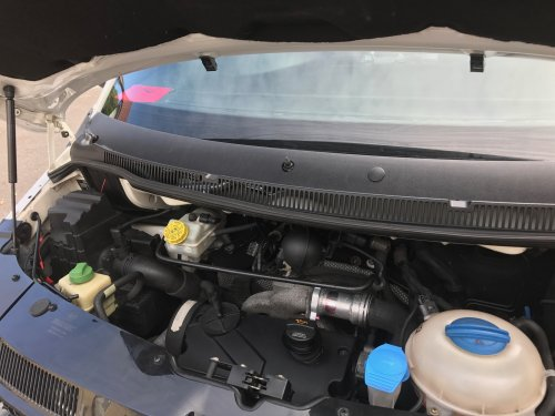 VW T5 2003 2009 1.9 L before