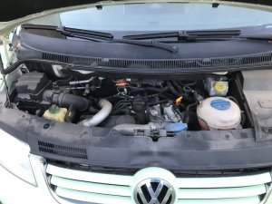 VW T5 2003 2009 2.5 L before