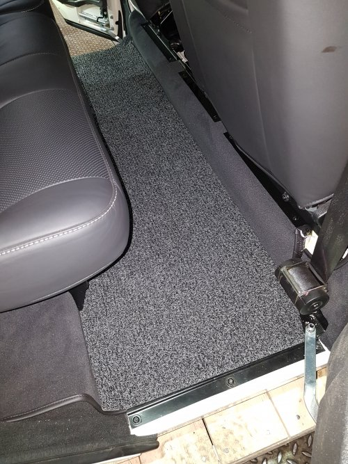 Land Rover Luxury Middle floor mat for Defender 110
