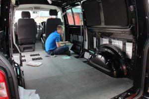 VW T5 soundproofing