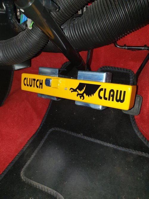 Classic Mini clutch claw fit on pedals