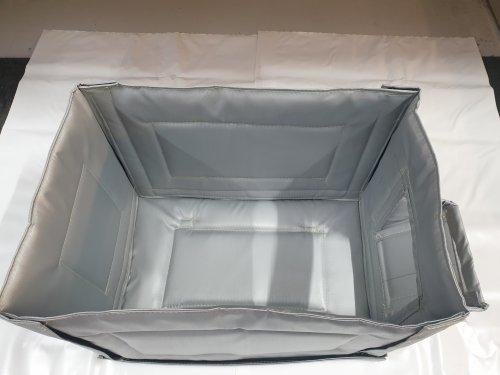 Acoustic generator box blanket inside