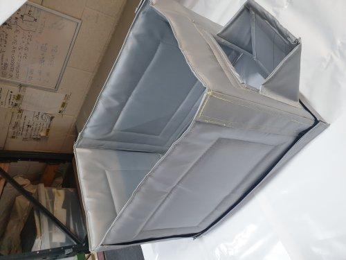 Acoustic generator box blanket vent