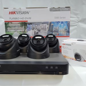 Hik-Vision 5 mp camera + TB DVR