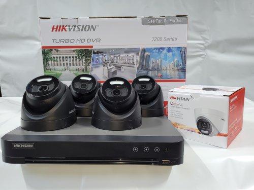 Hik-Vision 5 mp camera + TB DVR